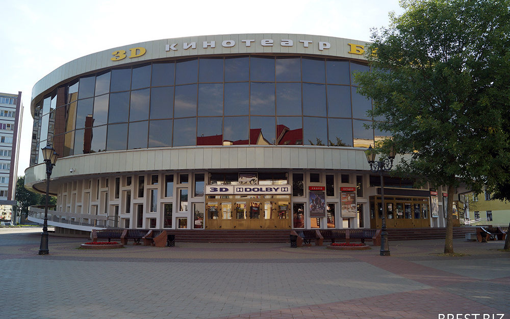 Кинотеатр. Беларусь. Брест. Воздушные завесы.